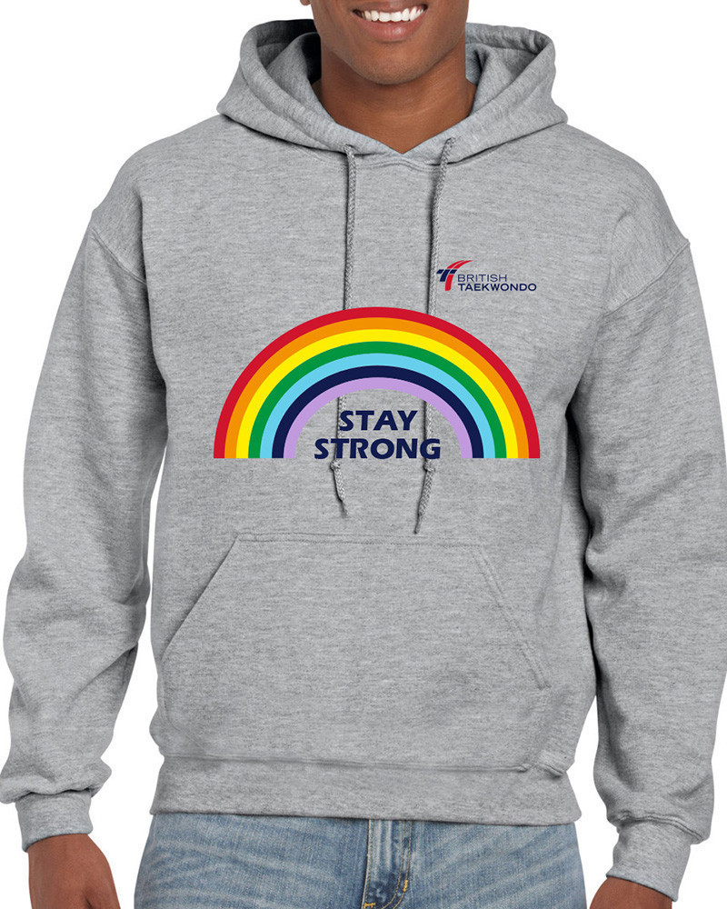 "British Taekwondo raises £215 for National Health Service through sales of ""Stay Strong"" hoodies"