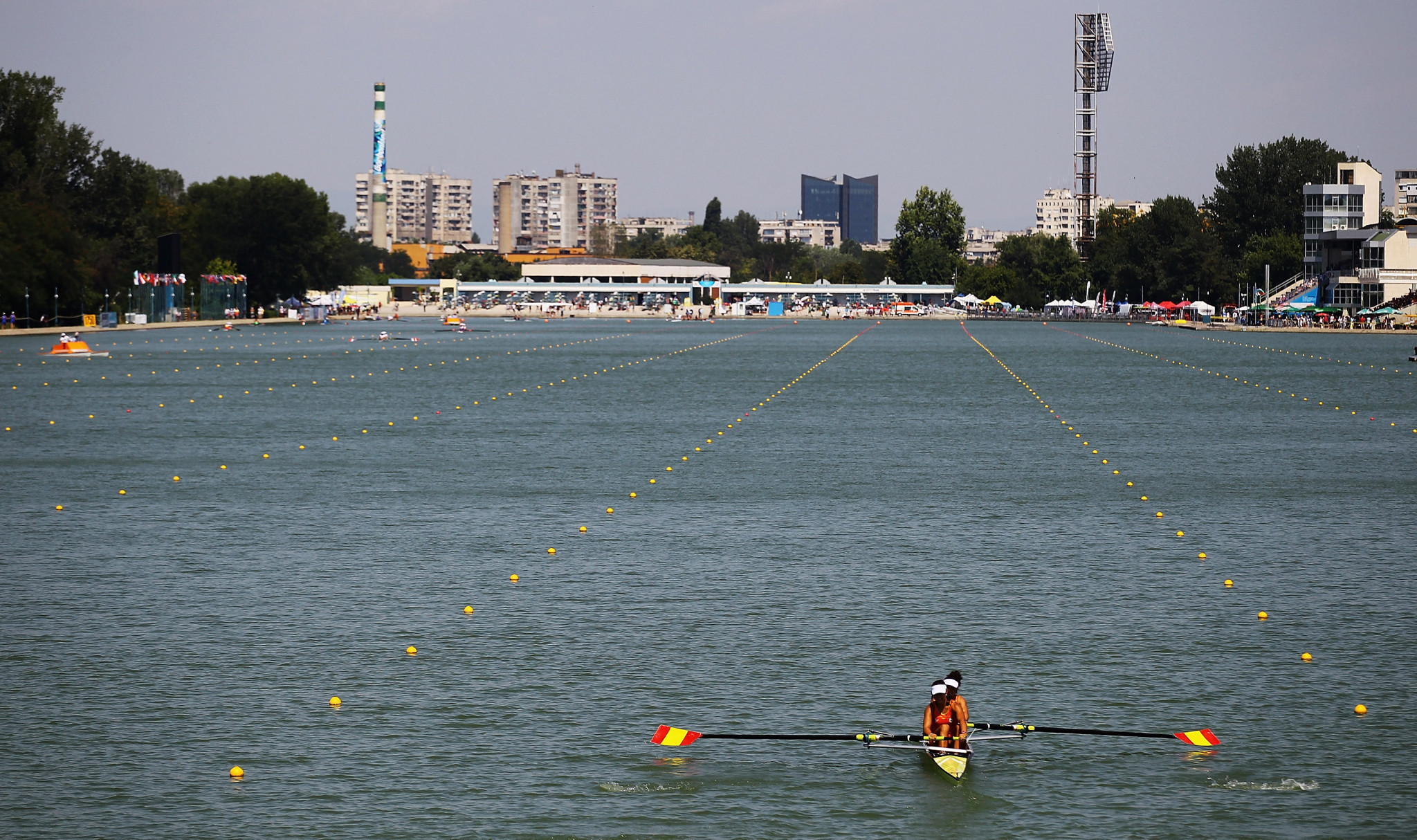 Rowing's lane system has stood the test of time ©Getty Images