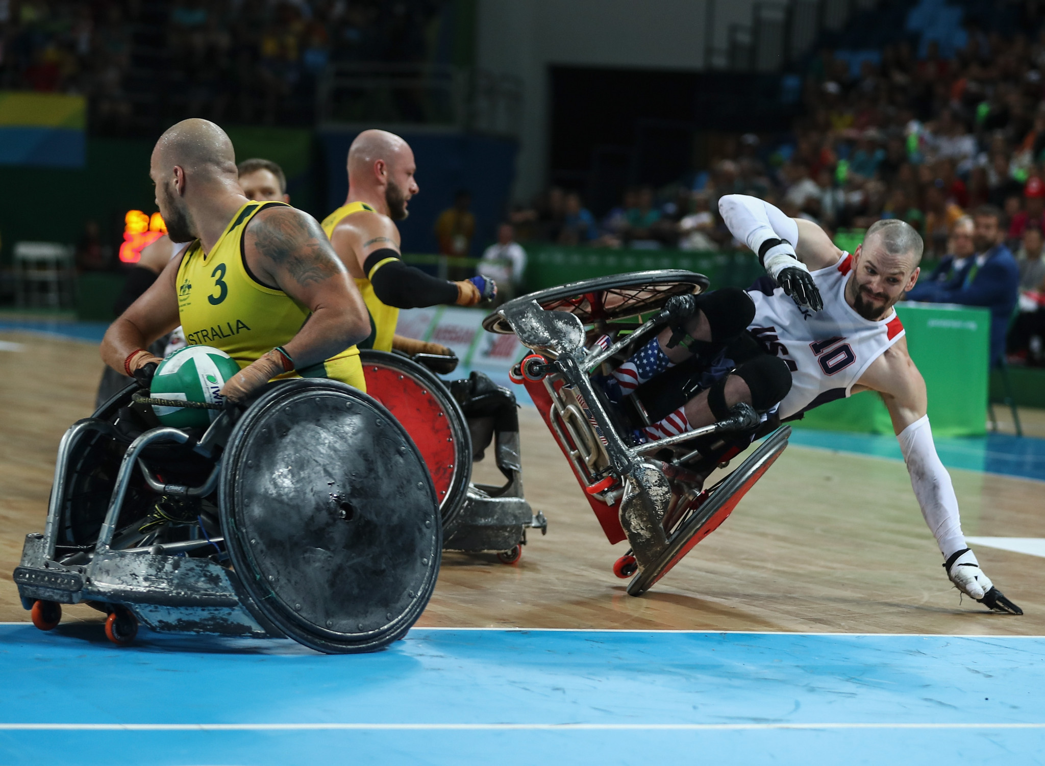 International Wheelchair Rugby Federation restructure website for easier use