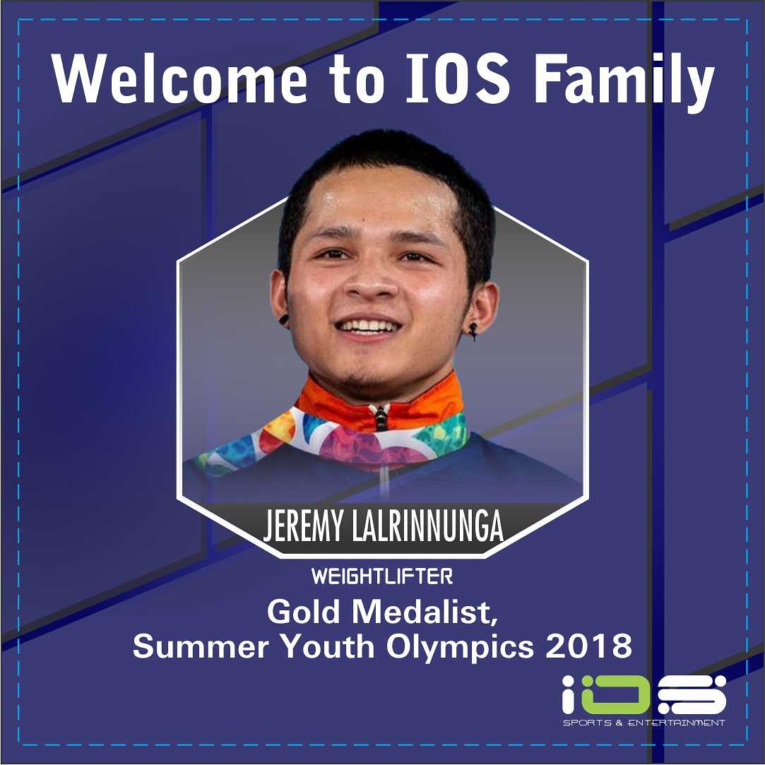 Youth Olympic champion Lalrinnunga signs deal with IOS Sports and Entertainment