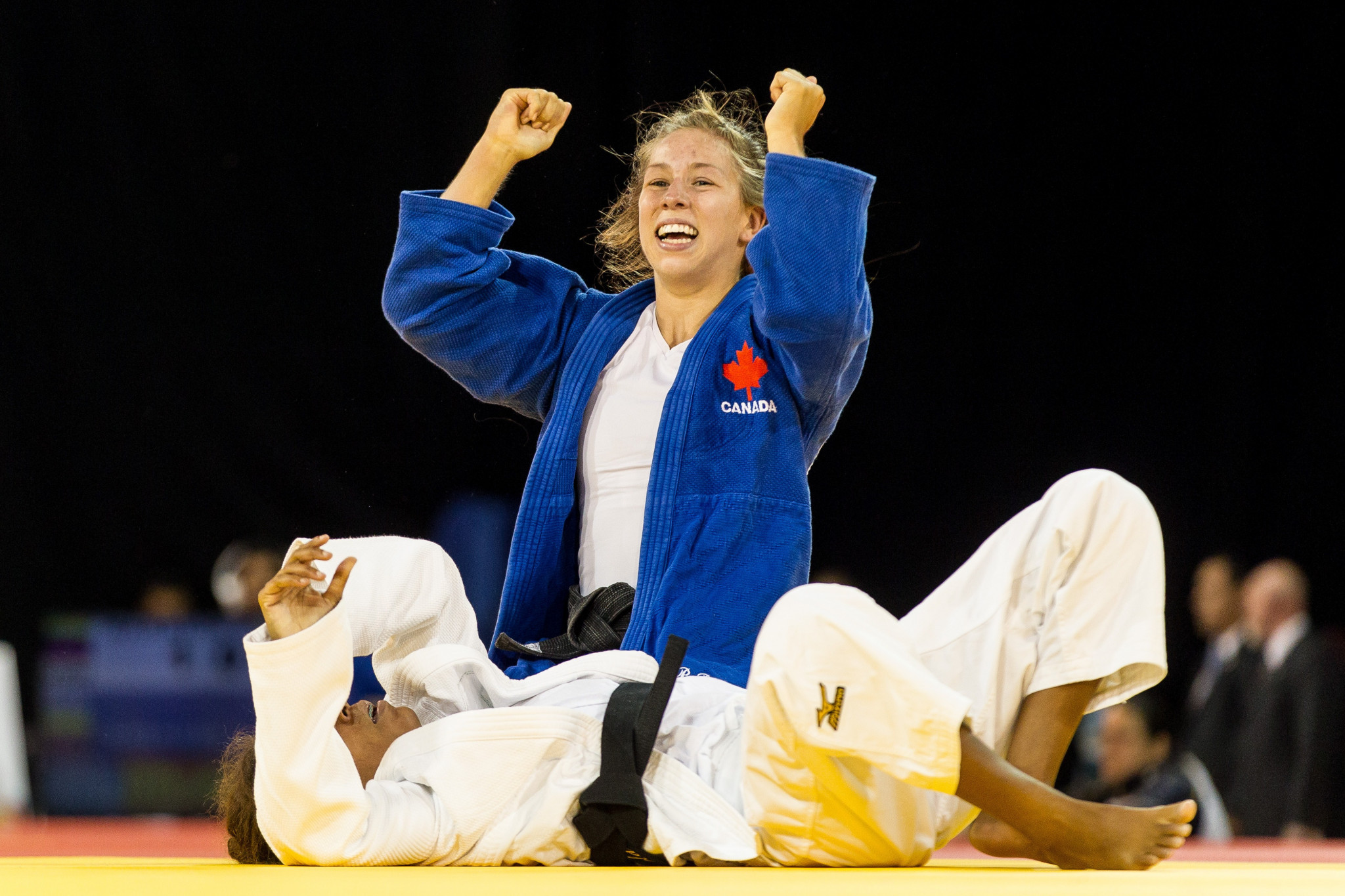 Canadian judokas have returned to training amid the coronavirus pandemic ©Getty Images