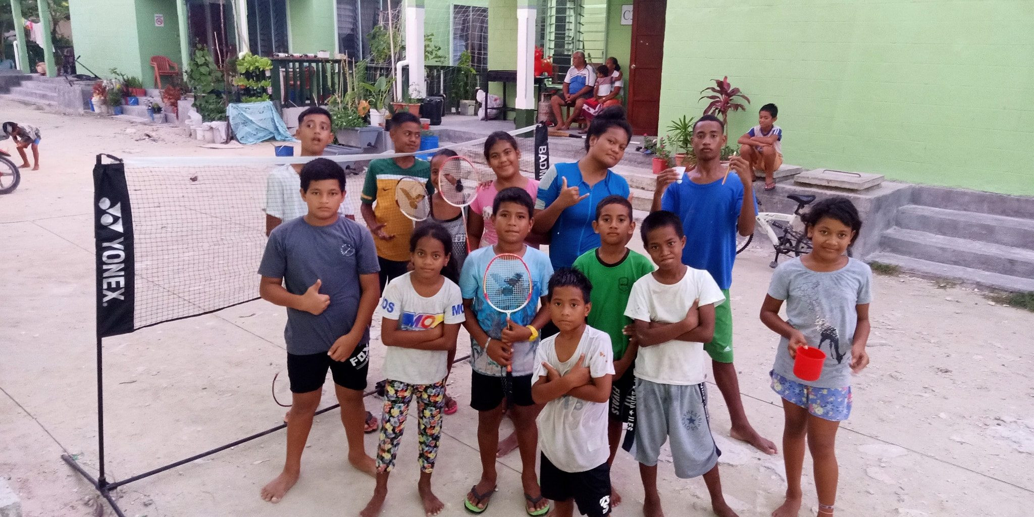 Tuvalu badminton street programme sees development in nation