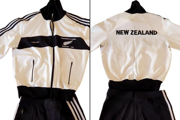 Sir John Walker donates warm-up suit to World Athletics Heritage Collection