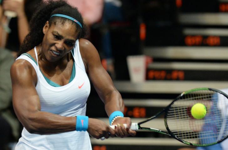 Serena Williams won three Grand Slam titles this year