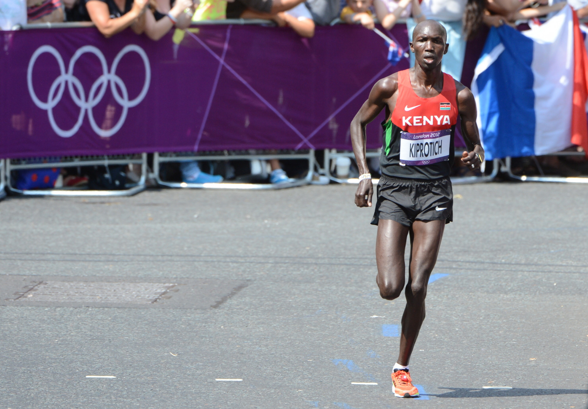 Wilson Kipsang earned a bronze medal at the London 2012 Olympic Games ©Getty Images