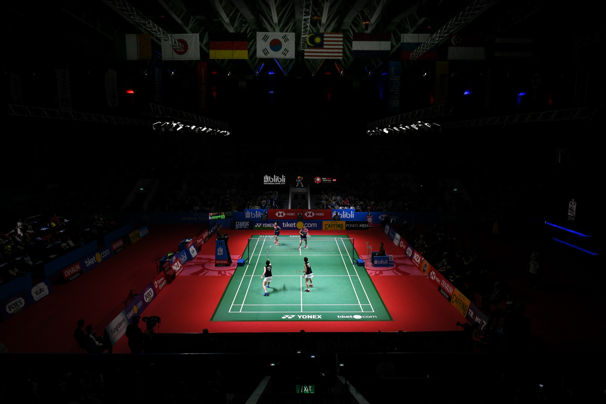 The badminton season has been significantly altered in light of the COVID-19 crisis ©Getty Images