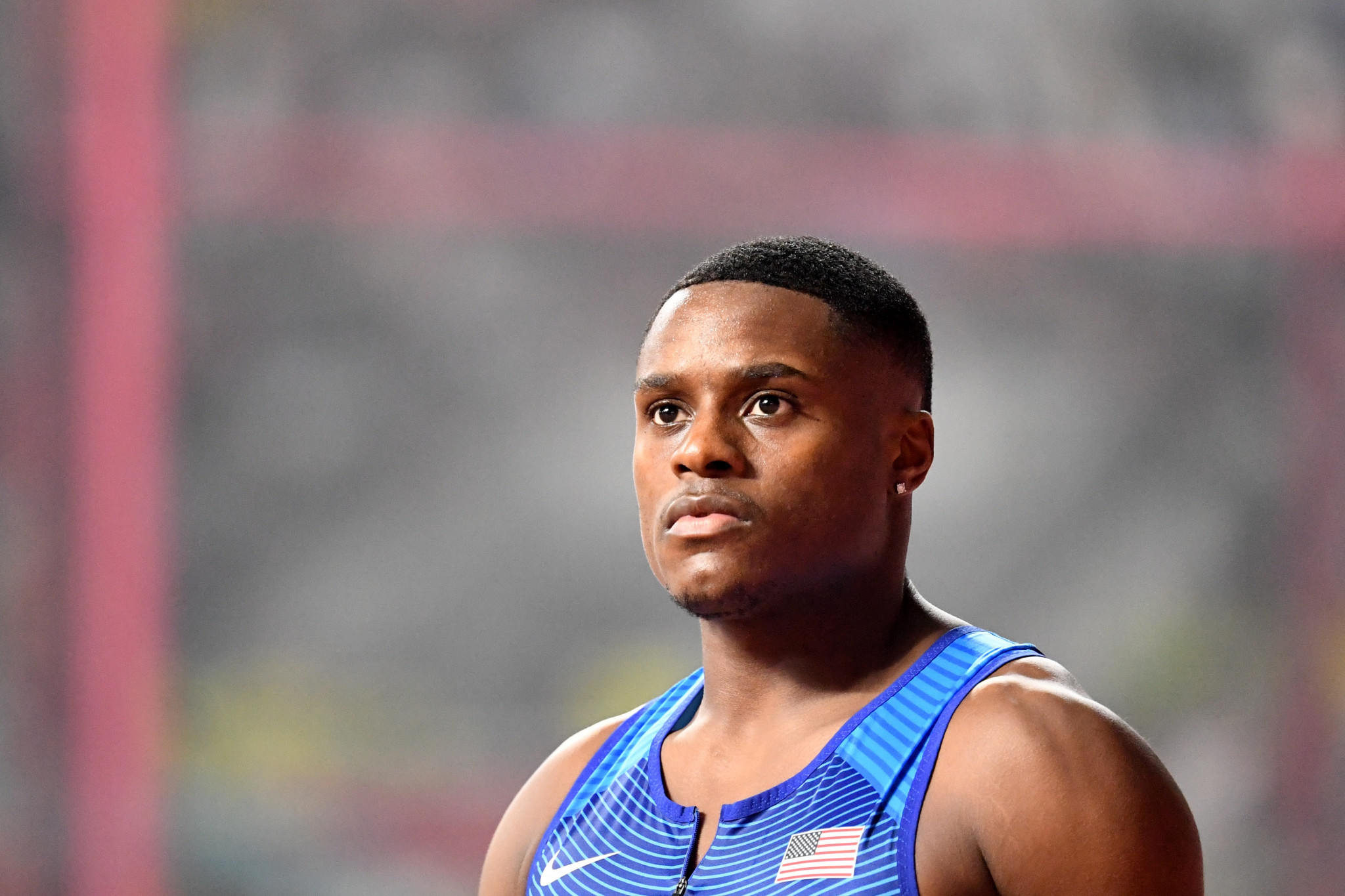 Christian Coleman is another American athlete to be hit with a suspension for whereabouts failures ©Getty Images