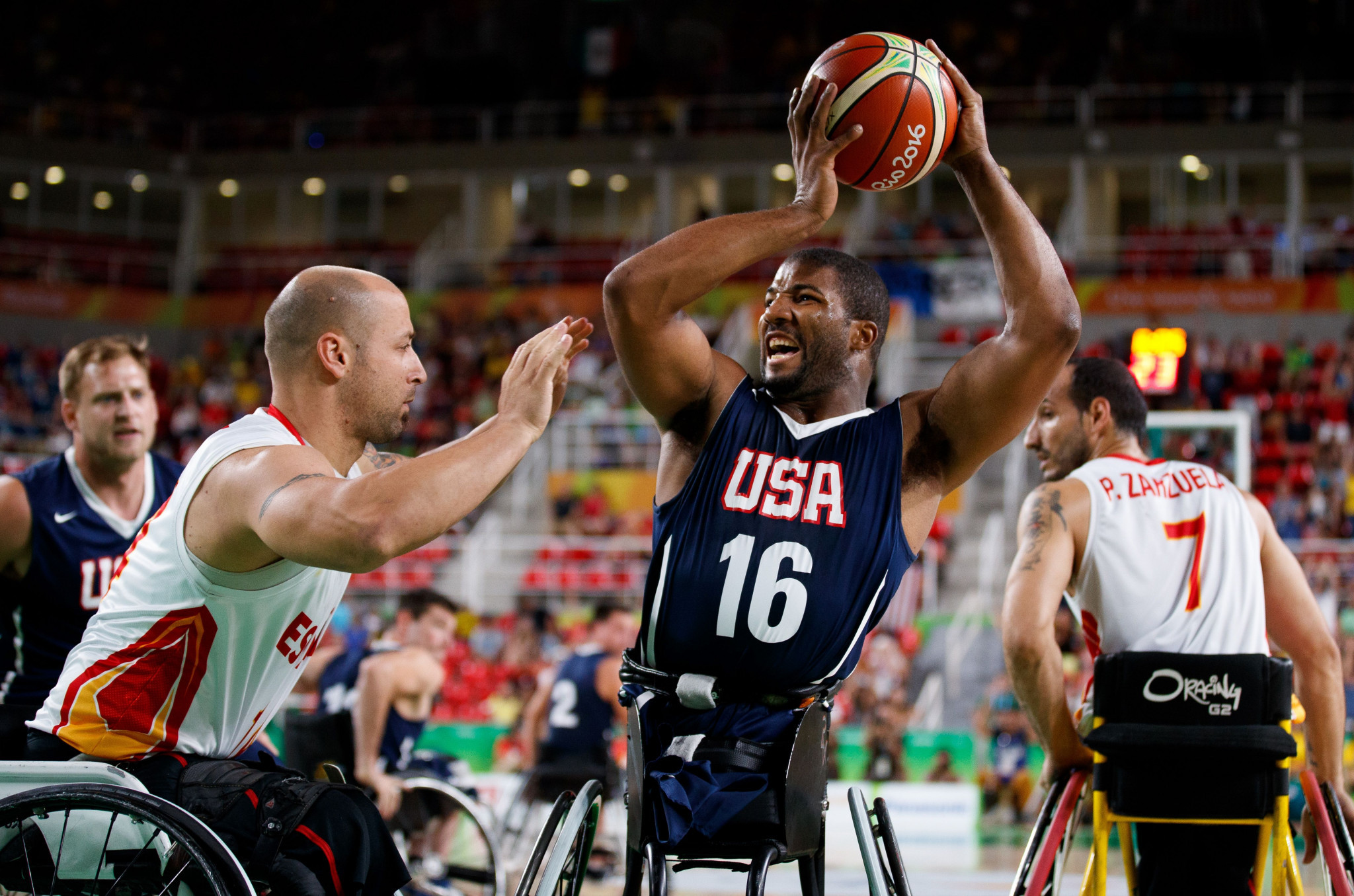 The IPC has threatened to remove wheelchair basketball from the Tokyo 2020 and Paris 2024 Paralympic Games ©Getty Images