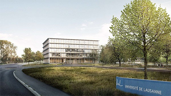 Construction on the four-storey building which will become the new headquarters of FISU is expected to be completed by late 2017