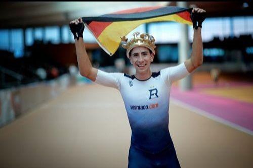 Felix Rijhnen is the inaugural men's world record holder ©World Skate