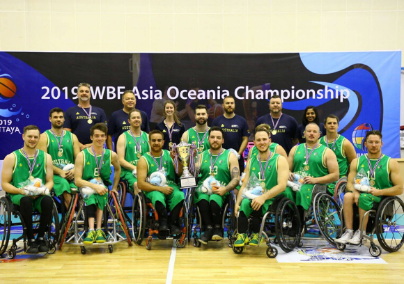Australia names men's wheelchair basketball squad to prepare for Tokyo 2020