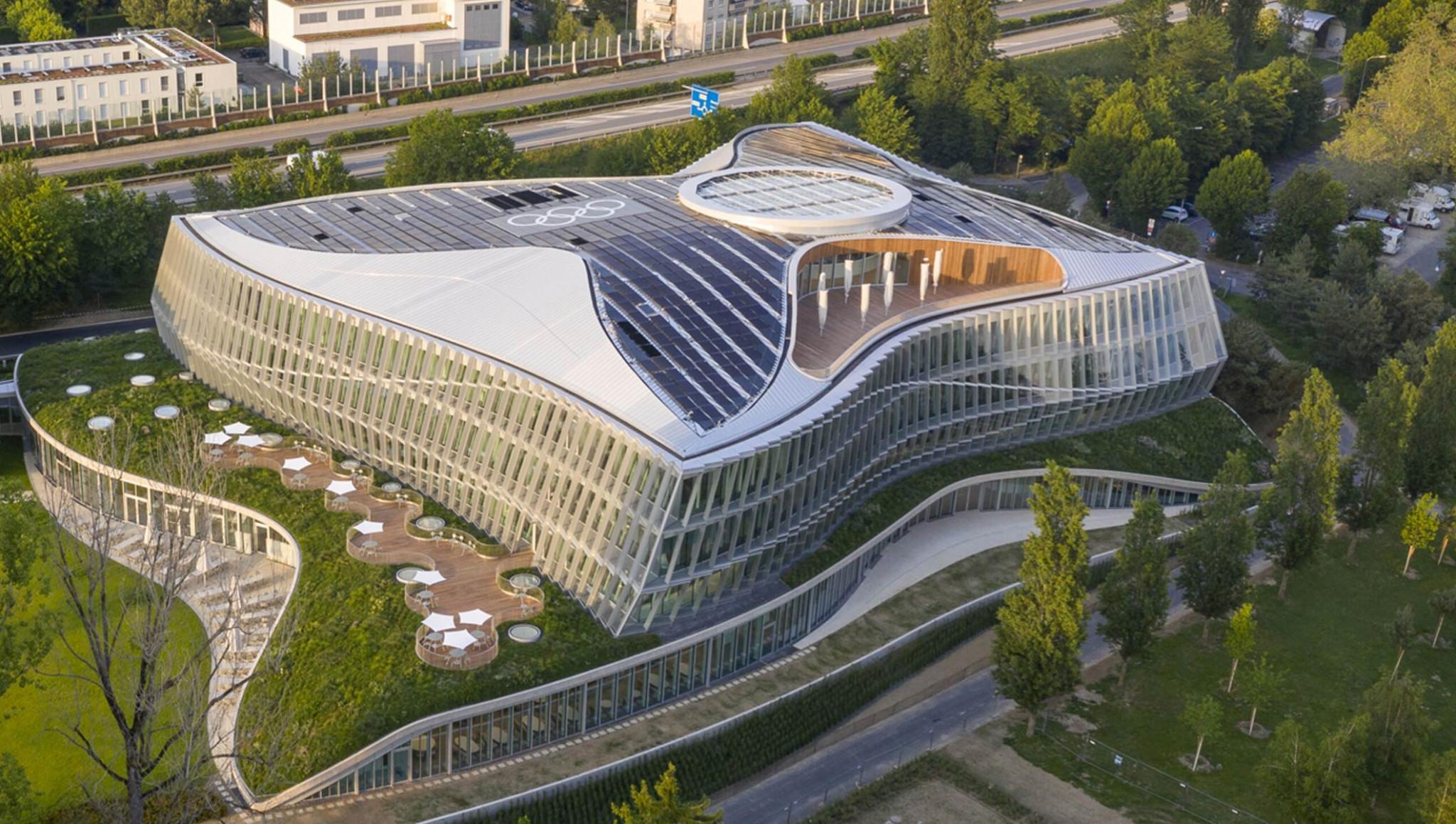 IOC headquarters receives US Green Building Council Leadership Award