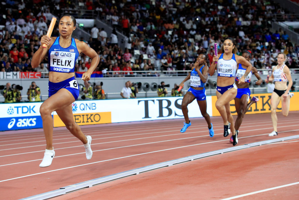 Allyson Felix is among the athletes set to compete from the United States ©Getty Images