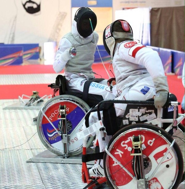 The event in Sharjah was the final IWAS Wheelchair Fencing World Cup of the season