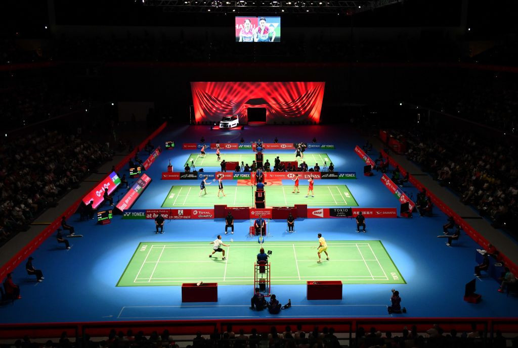 The venue is due to host badminton at the 2022 Asian Games ©Getty Images