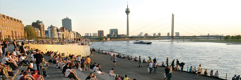 Düsseldorf will host the prologue to the 2017 Tour de France ©DuesseldorfTourismus