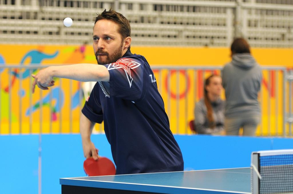 American Para-table tennis player Tahl Leibovitz is set to compete at his sixth Paralympic Games ©Paralympics