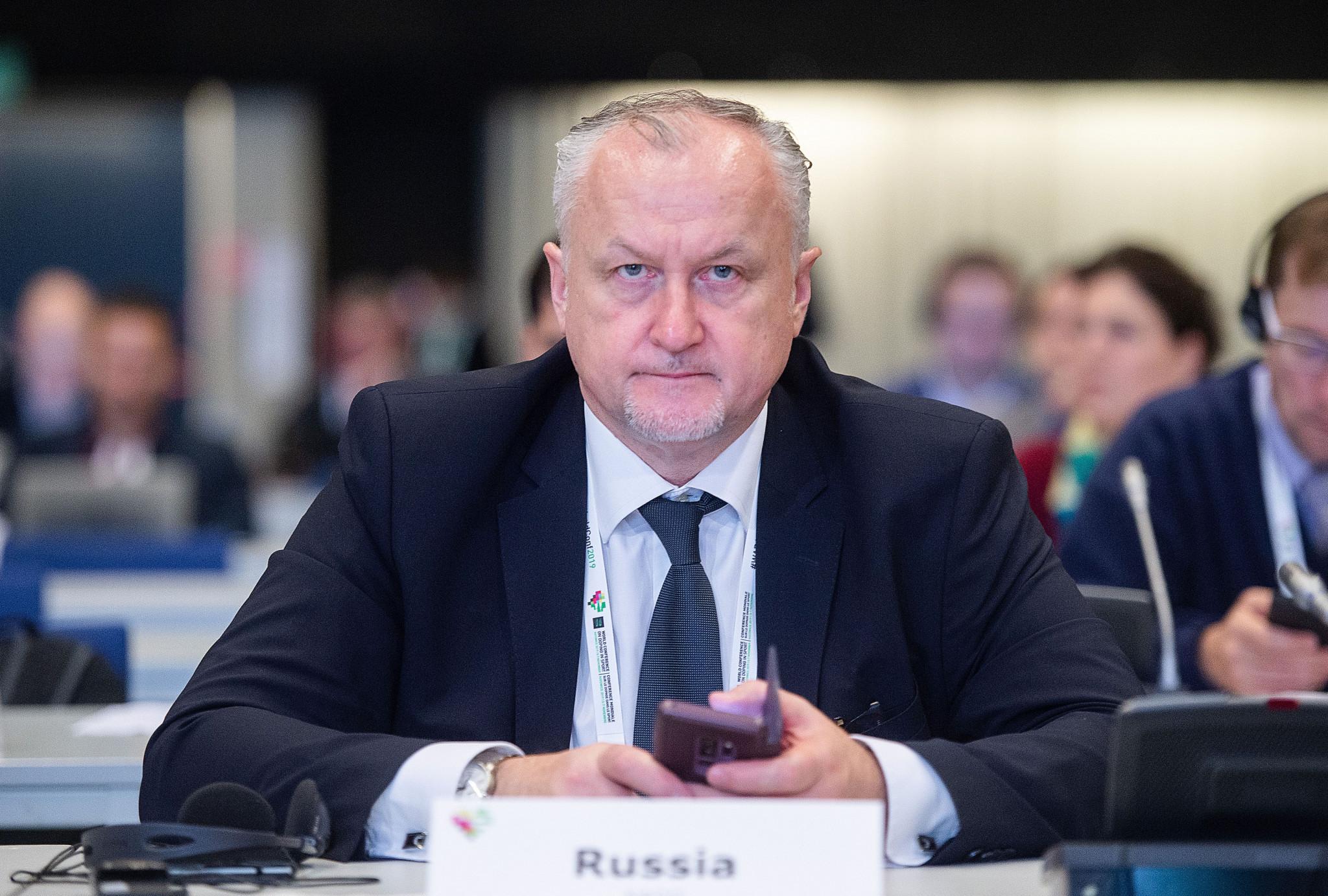 Yuri Ganus became RUSADA director general in 2017 ©Getty Images