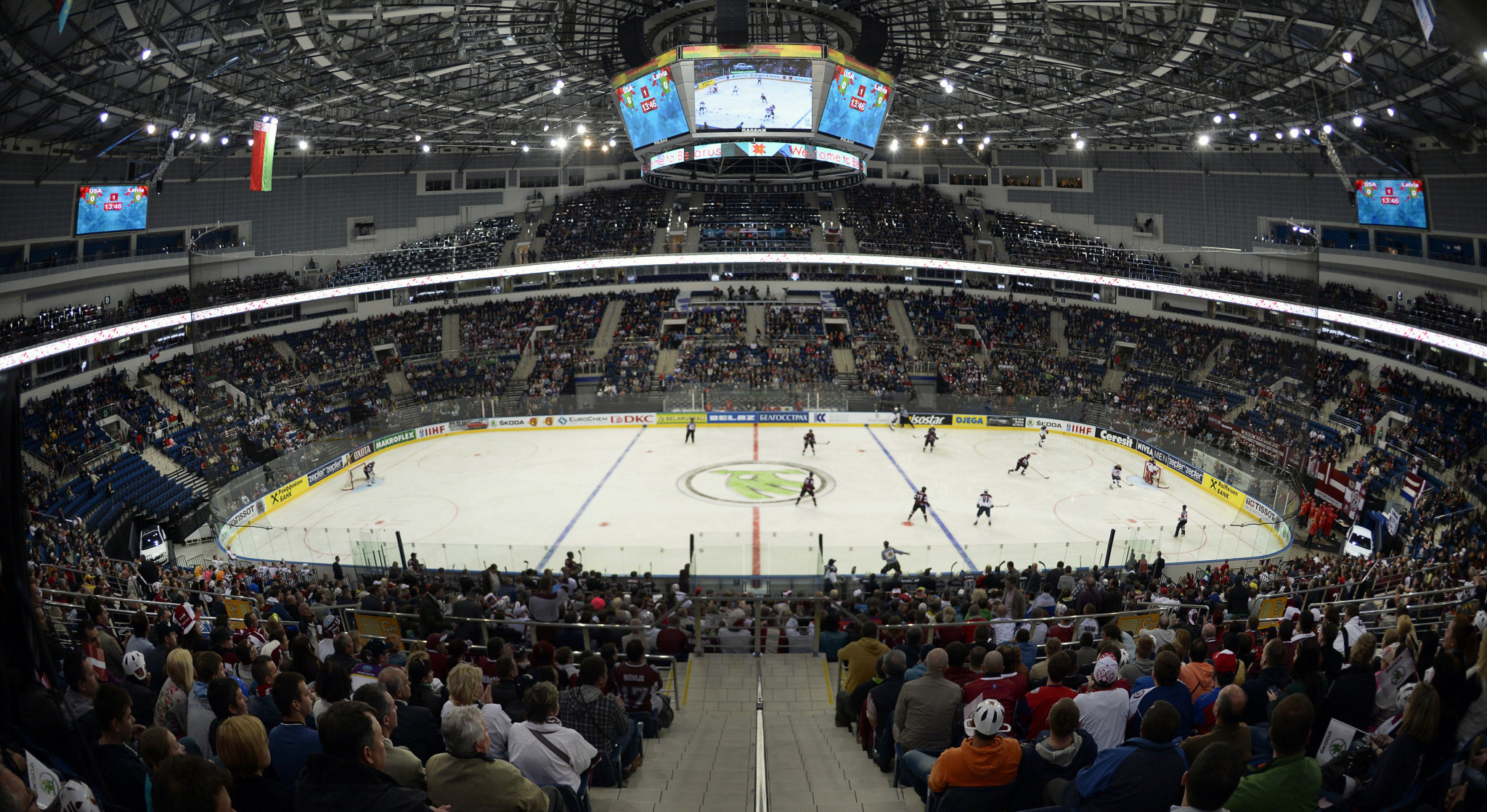 The Minsk Arena will be the main venue for the competition ©Getty Images