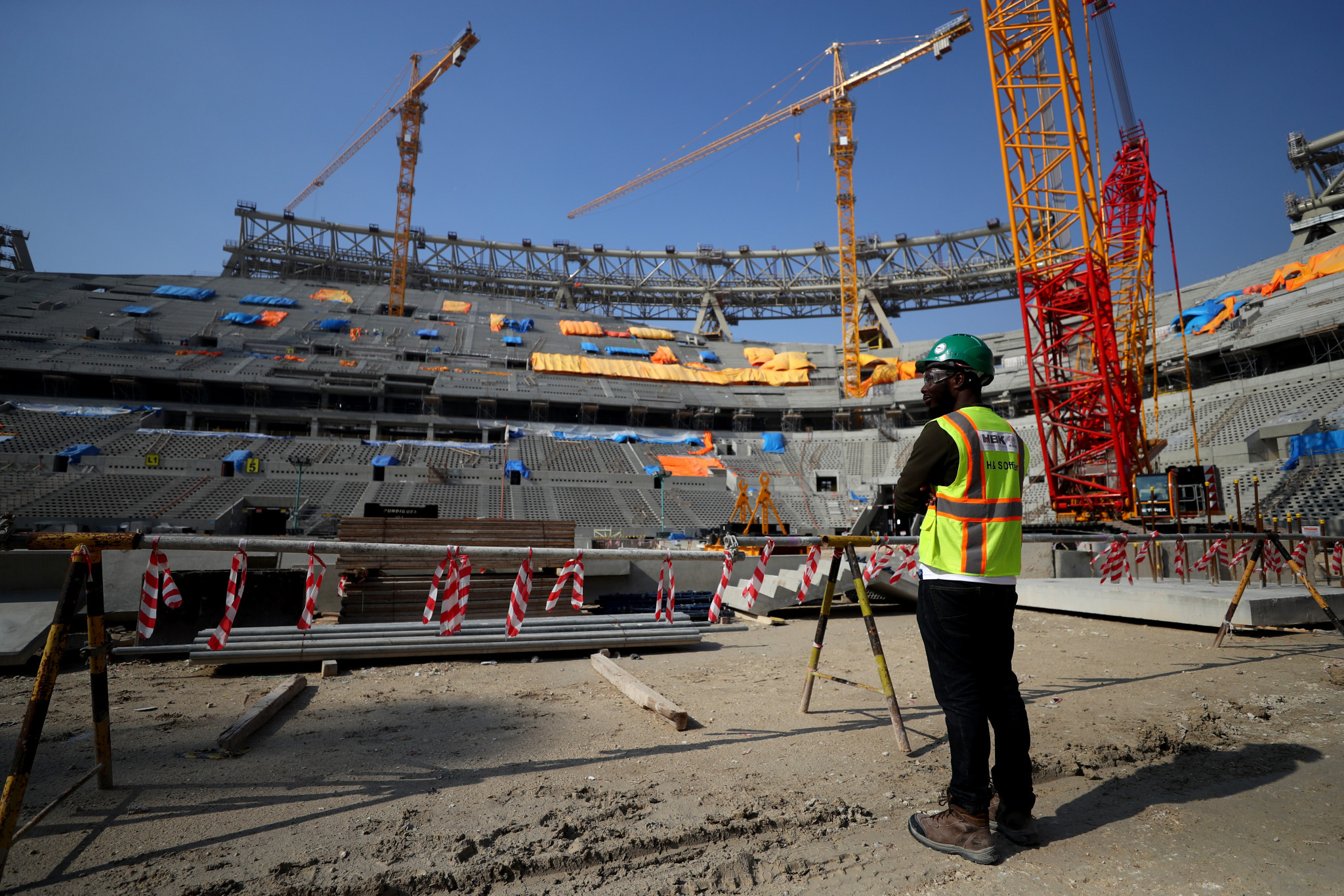 Qatar 2022 cut World Cup workforce due to economic pressures of pandemic