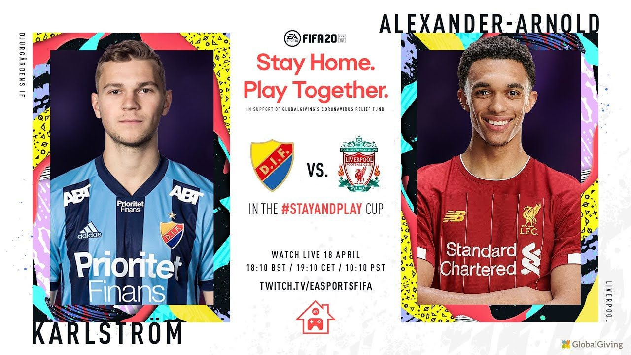 The FIFA Stay and Play Cup, launched at the beginning of the lockdown forced upon the world by coronavirus, featured leading footballers along with