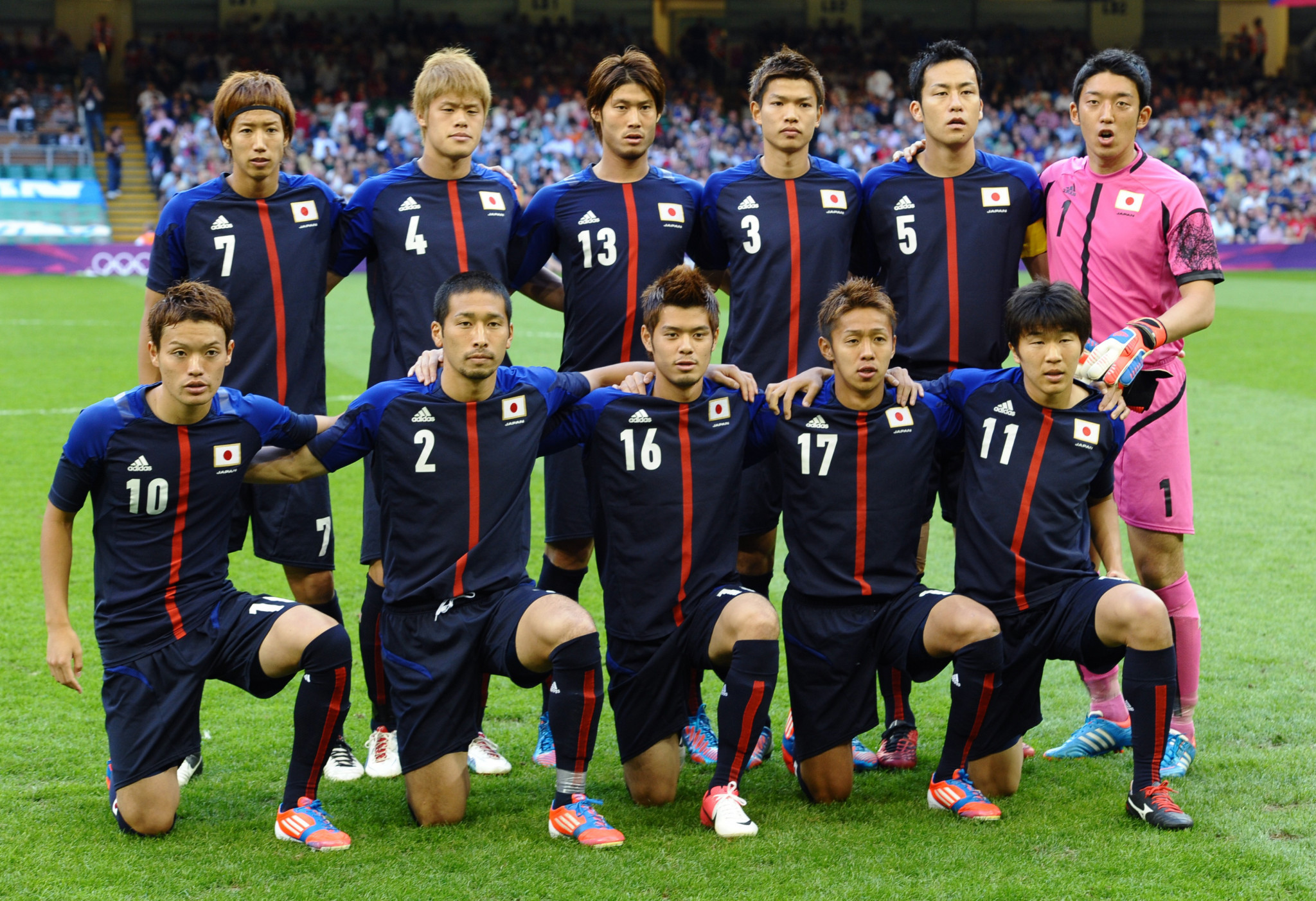 Japan came fourth at London 2012, their highest finish in the men's Olympic football contest ©Getty Images