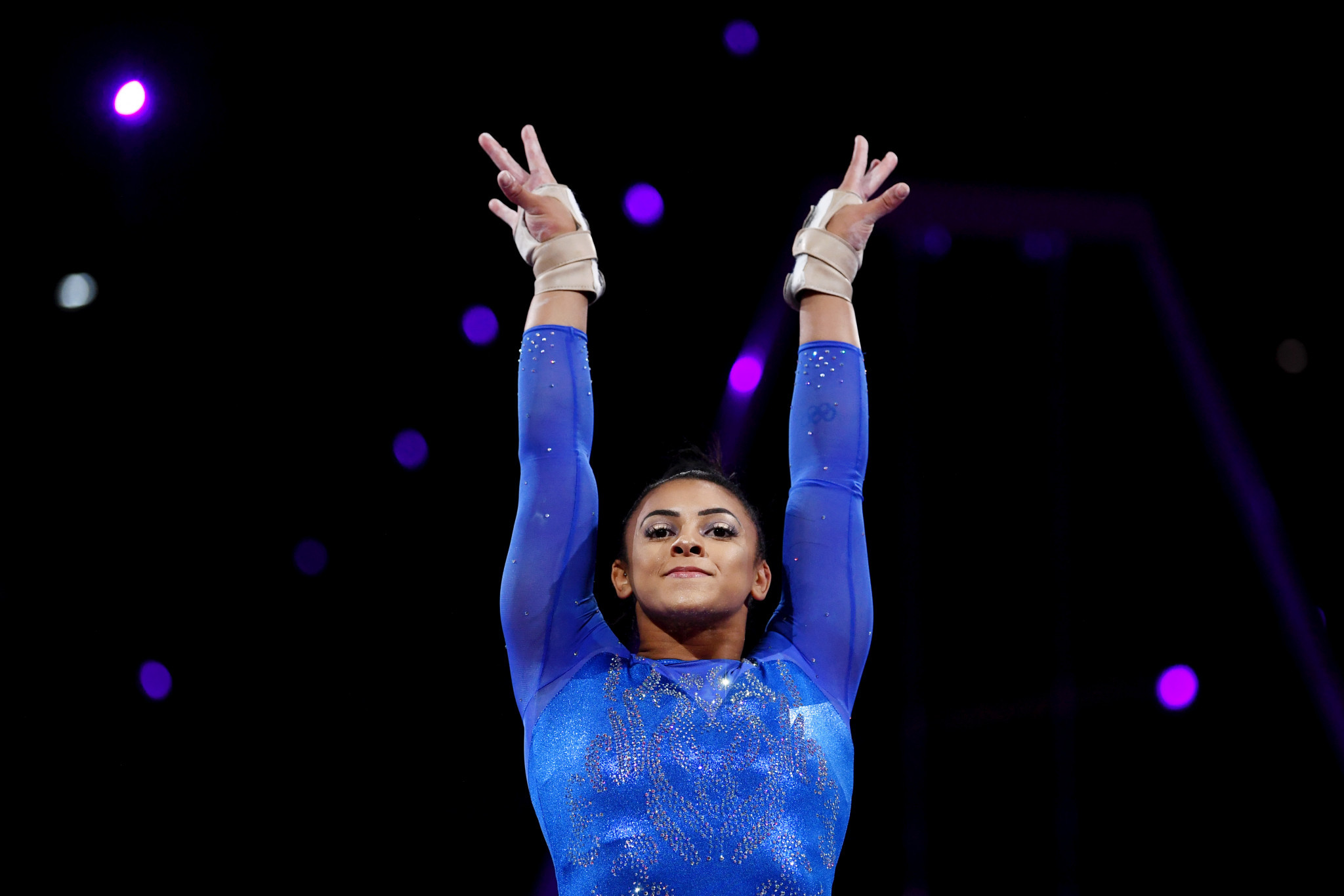 Ellie Downie said she had been made to feel ashamed about her weight ©Getty Images