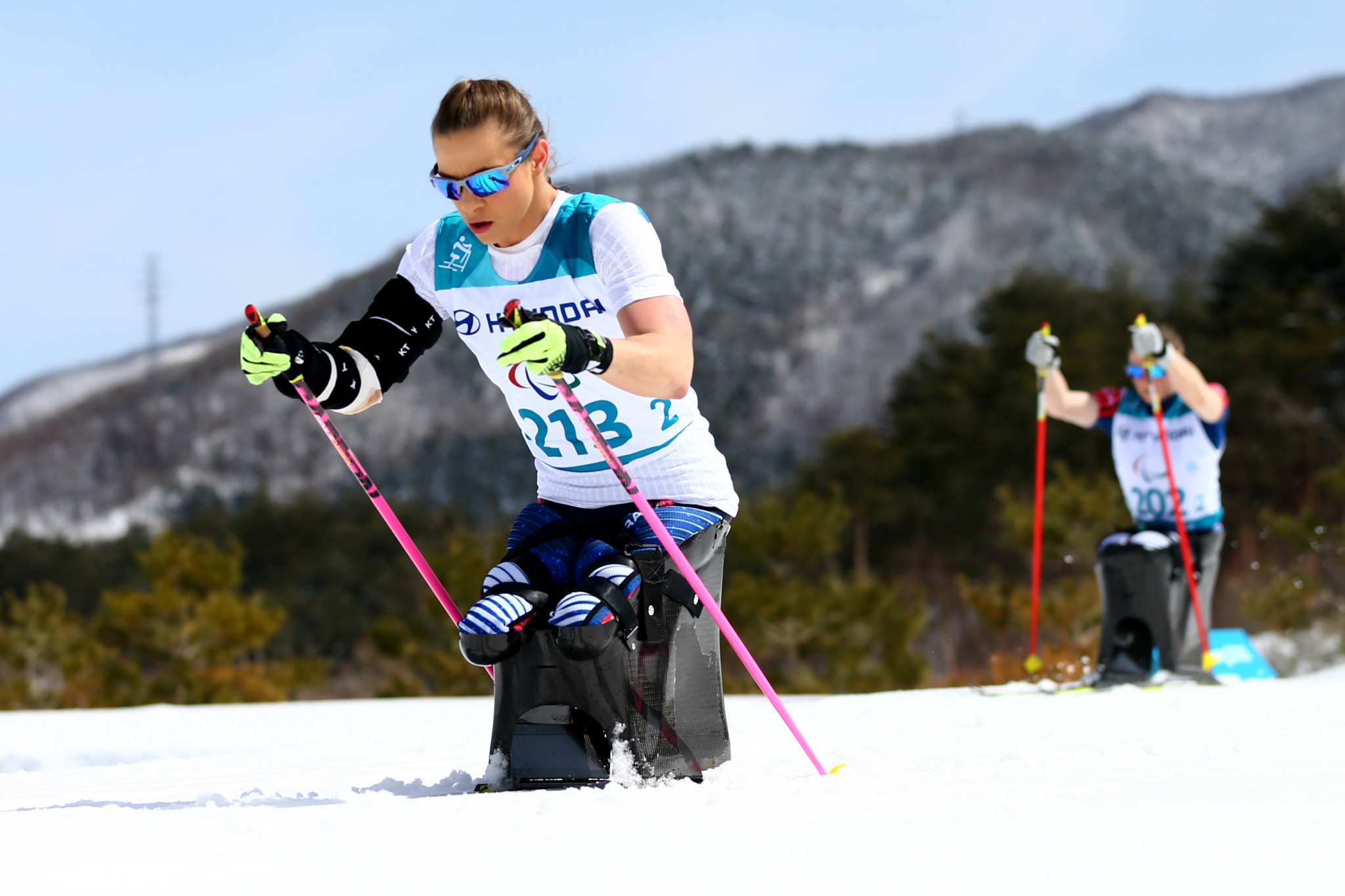 Oksana Masters has been named to the American Para-Nordic skiing team for next season ©Getty Images