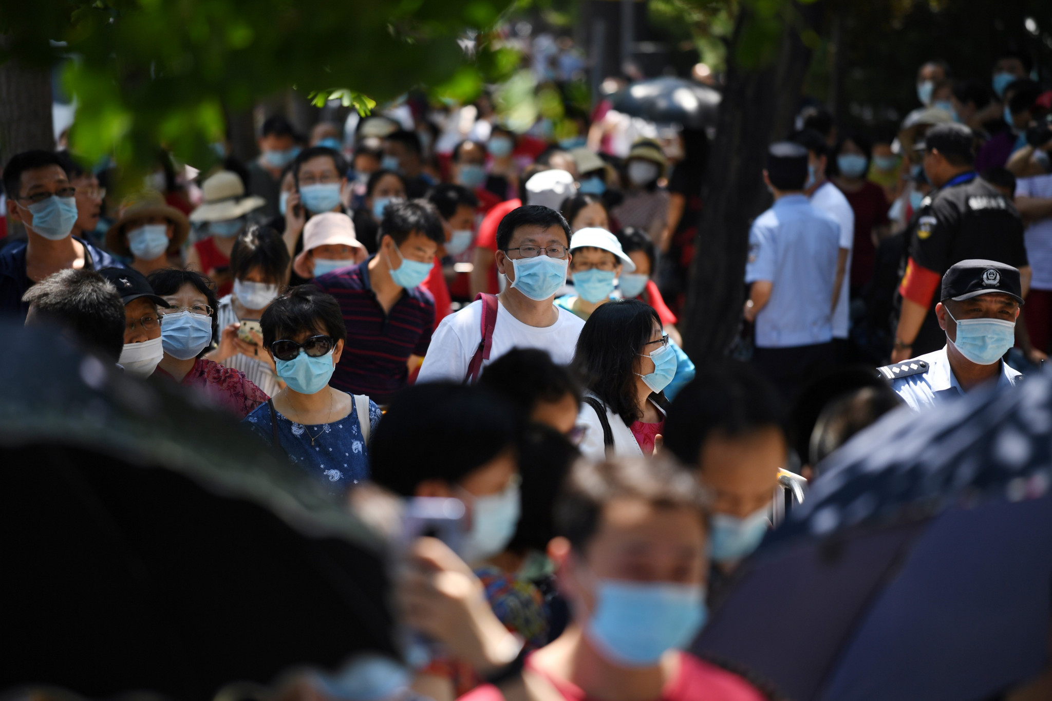 China claims to have had a relatively small number of coronavirus cases compared to the rest of the world but is cautious about international events contributing to an increase in numbers ©Getty Images