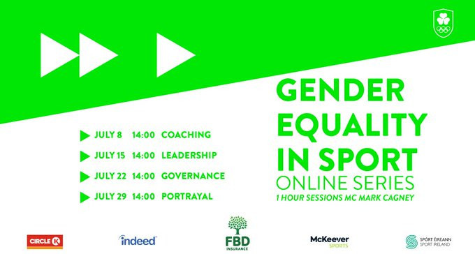 A new online series about gender equality has been launched by the Olympic Federation of Ireland ©OFI