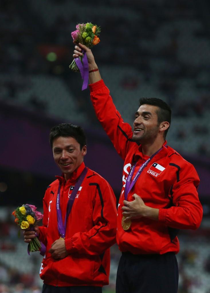Cristian Valenzuela won gold in the men's 5,000m T11 at London 2012
