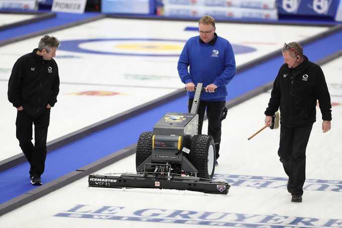 The World Curling Academy launched the ice technician level one course ©WCF