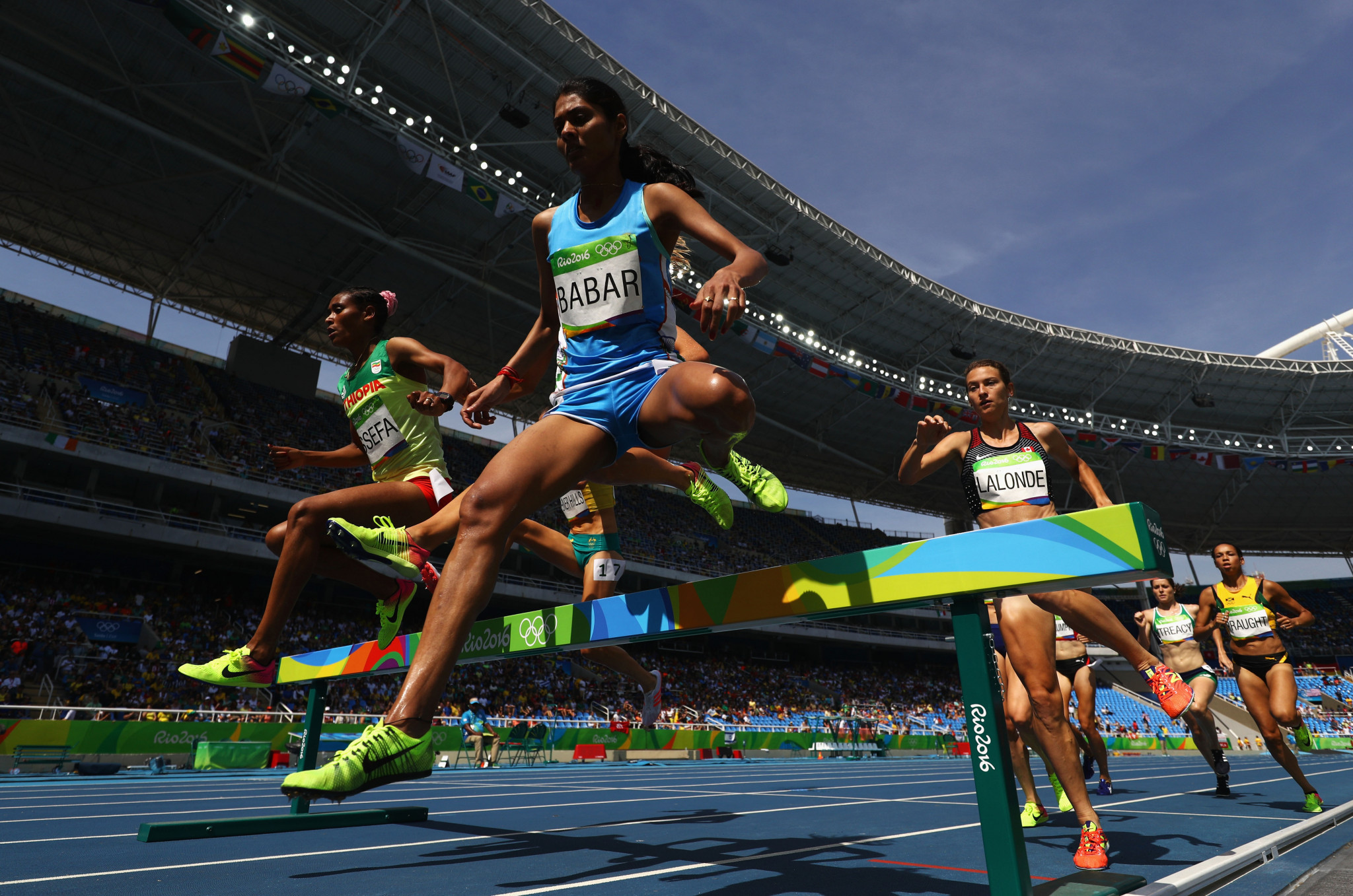 Lalita Babar produced India's best performance at Rio 2016 when she finished 10th in the women's 3,000m steeplechase -  extending the country's record without an Olympics athletics medal to 116 years ©Getty Images