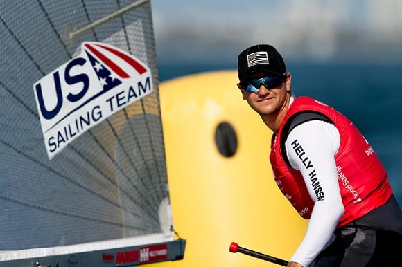Luke Muller has been named in the US Sailing team for Tokyo 2020 ©Sailing Energy/World Sailing