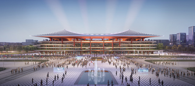 A new 60,000 stadium in Xiamen is among the facilities being constructed ©Chinese Football Association