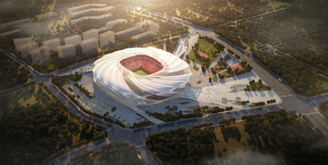 Asian Cup organisers say construction ongoing at six venues