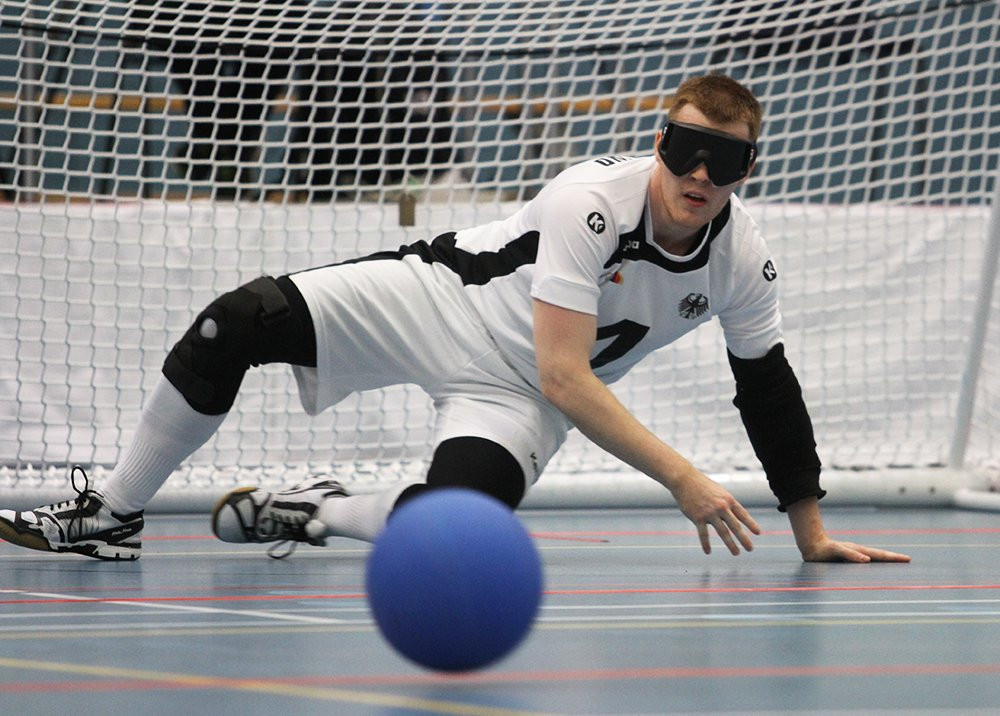 German goalball player Michael Feistle revealed he was hopeful of a podium finish at Tokyo 2020 ©Twitter