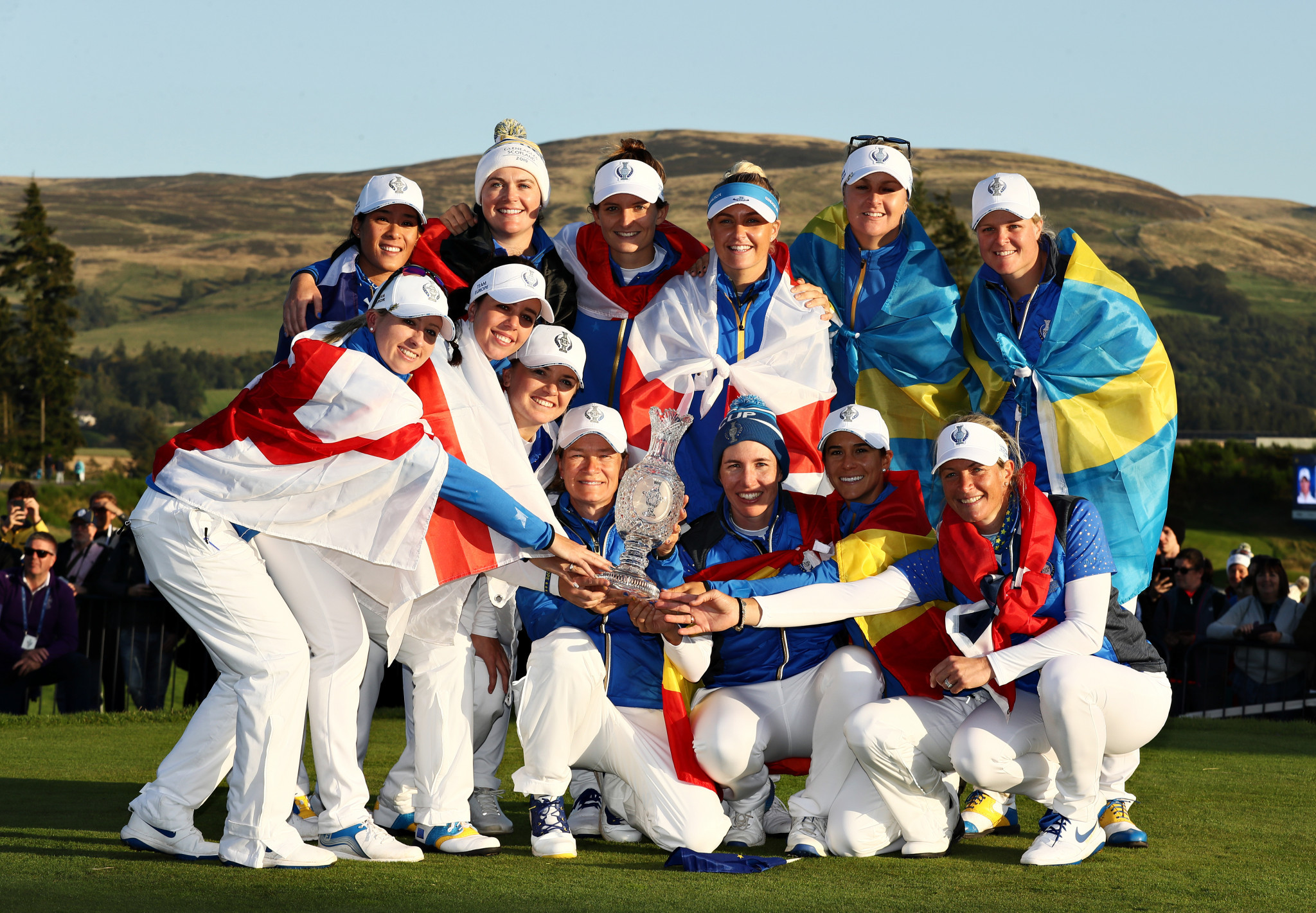 Europe will defend its title at the 2021 Solheim Cup ©Getty Images