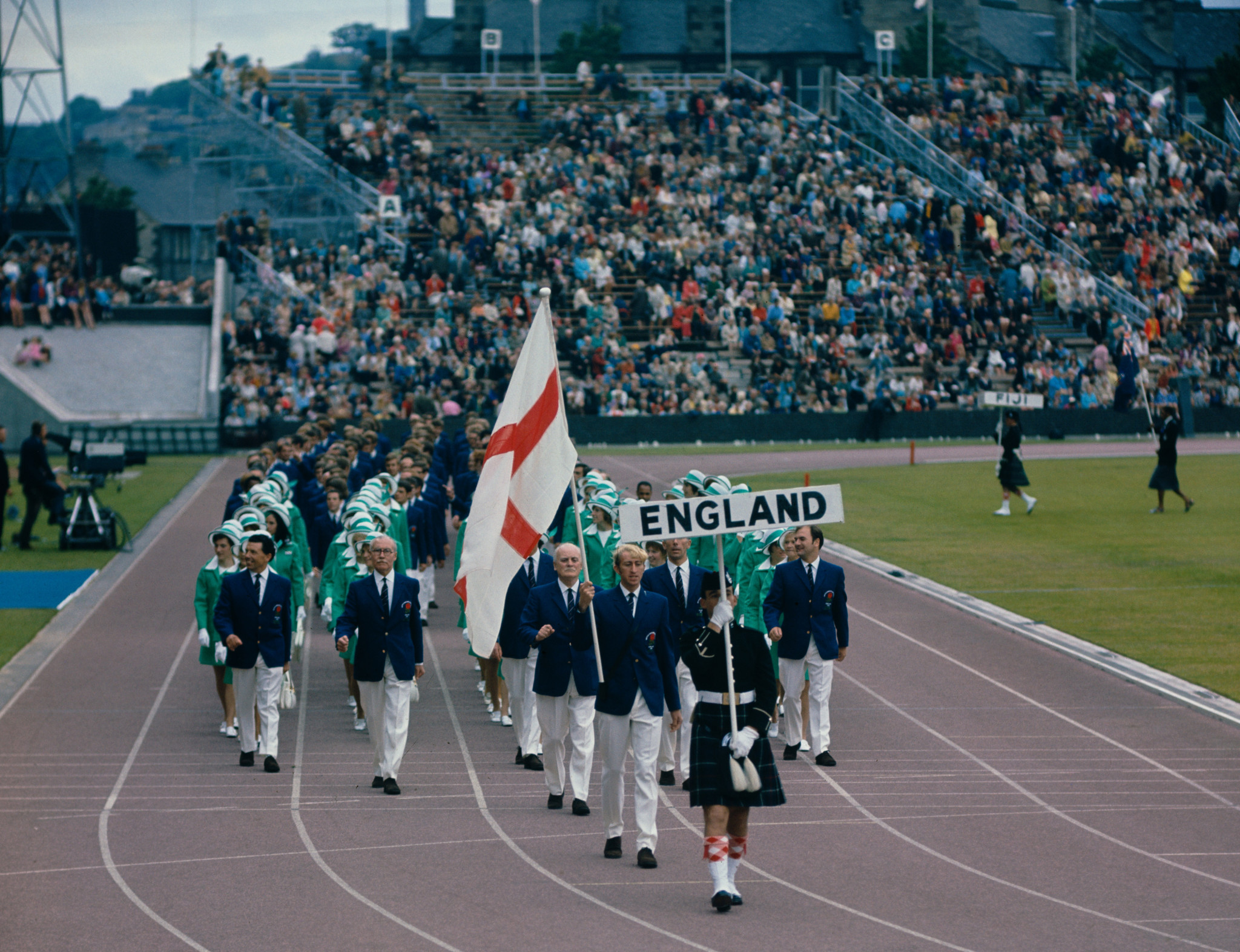 The Edinburgh 1970 Games took place successfully after fighting off a political storm ©Getty Images