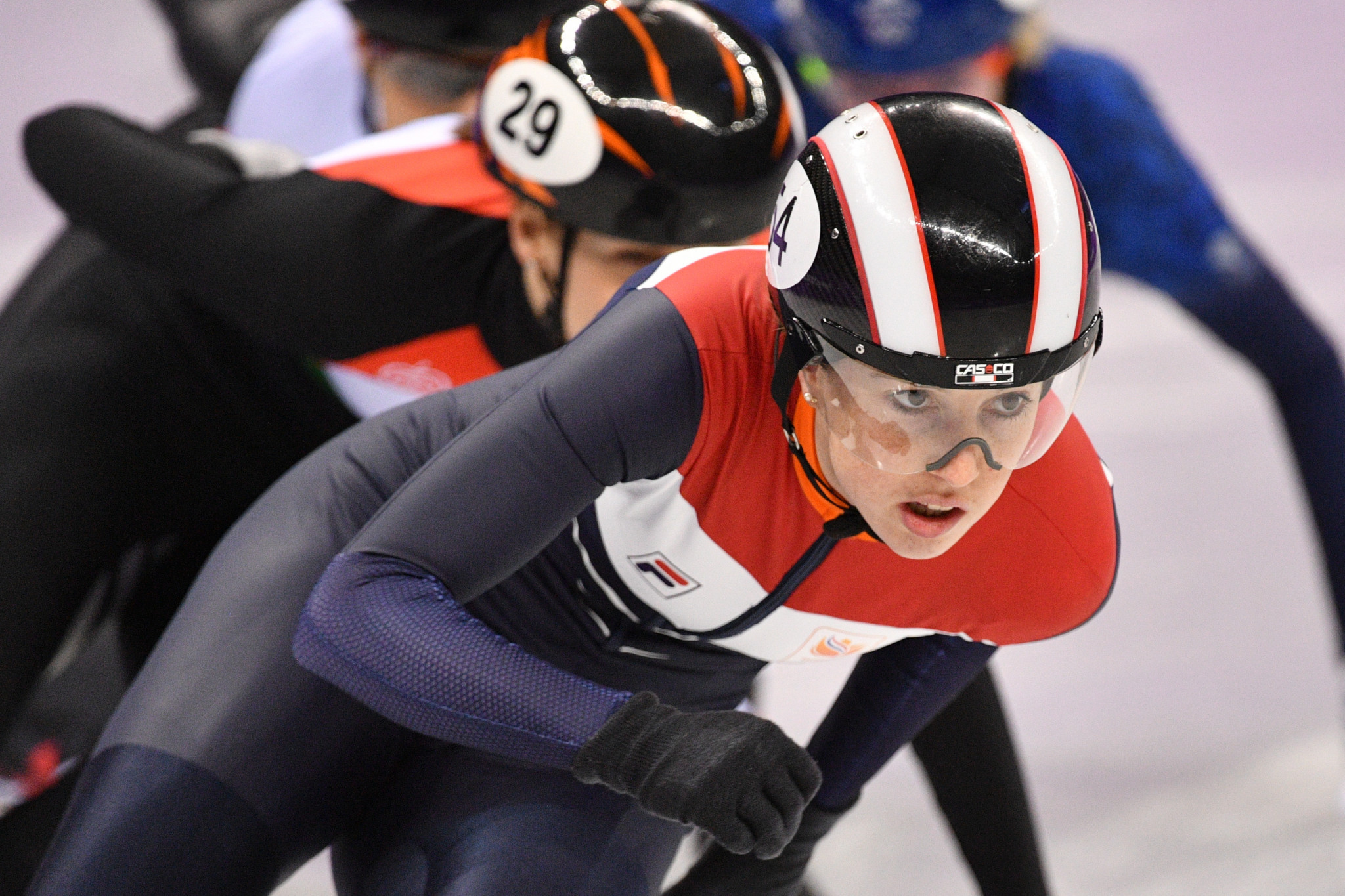 Dutch short track speed skater Lara van Ruijven has died aged 27 after falling ill last month ©Getty Images