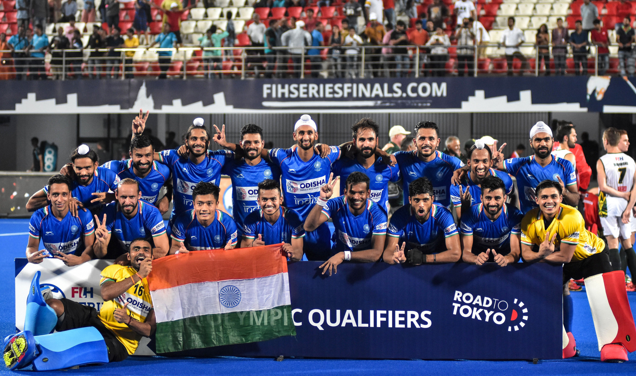 India are set to compete in the men's Olympic hockey contest for the 21st time next year ©Getty Images