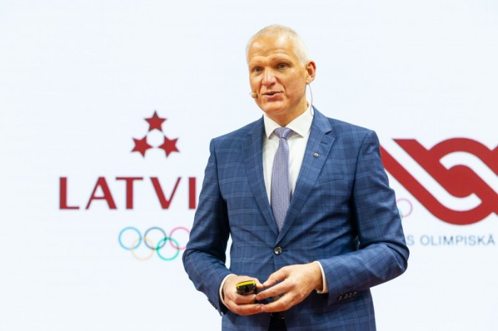 Tikmers elected as new President of Latvian Olympic Committee