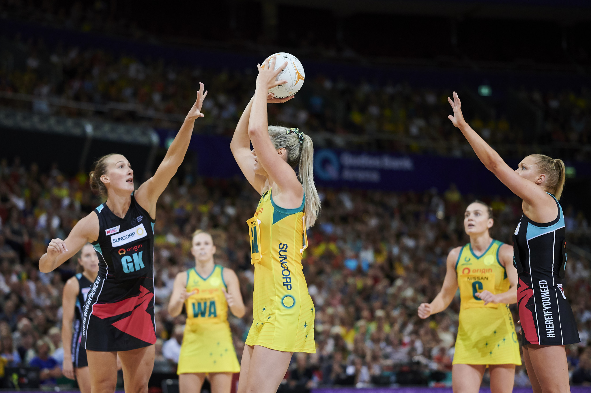 Australia are bidding to host the 2027 Netball World Cup ©Getty Images