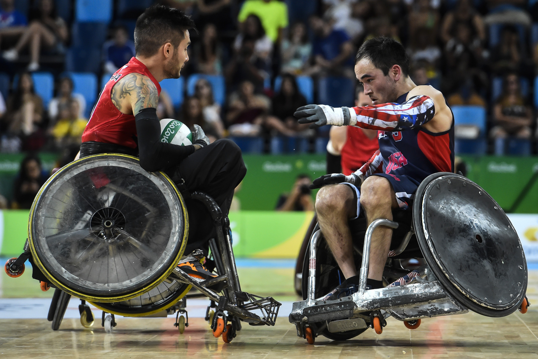 Dr. Kenneth Lee is no stranger to wheelchair rugby having worked with the IWRF since 2004 ©Getty Images