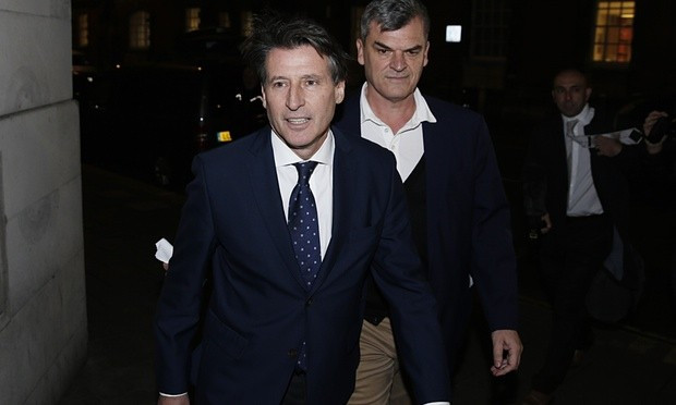 Sebastian Coe's chief aide Nick Davies has temporarily stood down from the IAAF following allegations he suggested delaying naming Russian athletes who had tested positive ©Getty Images