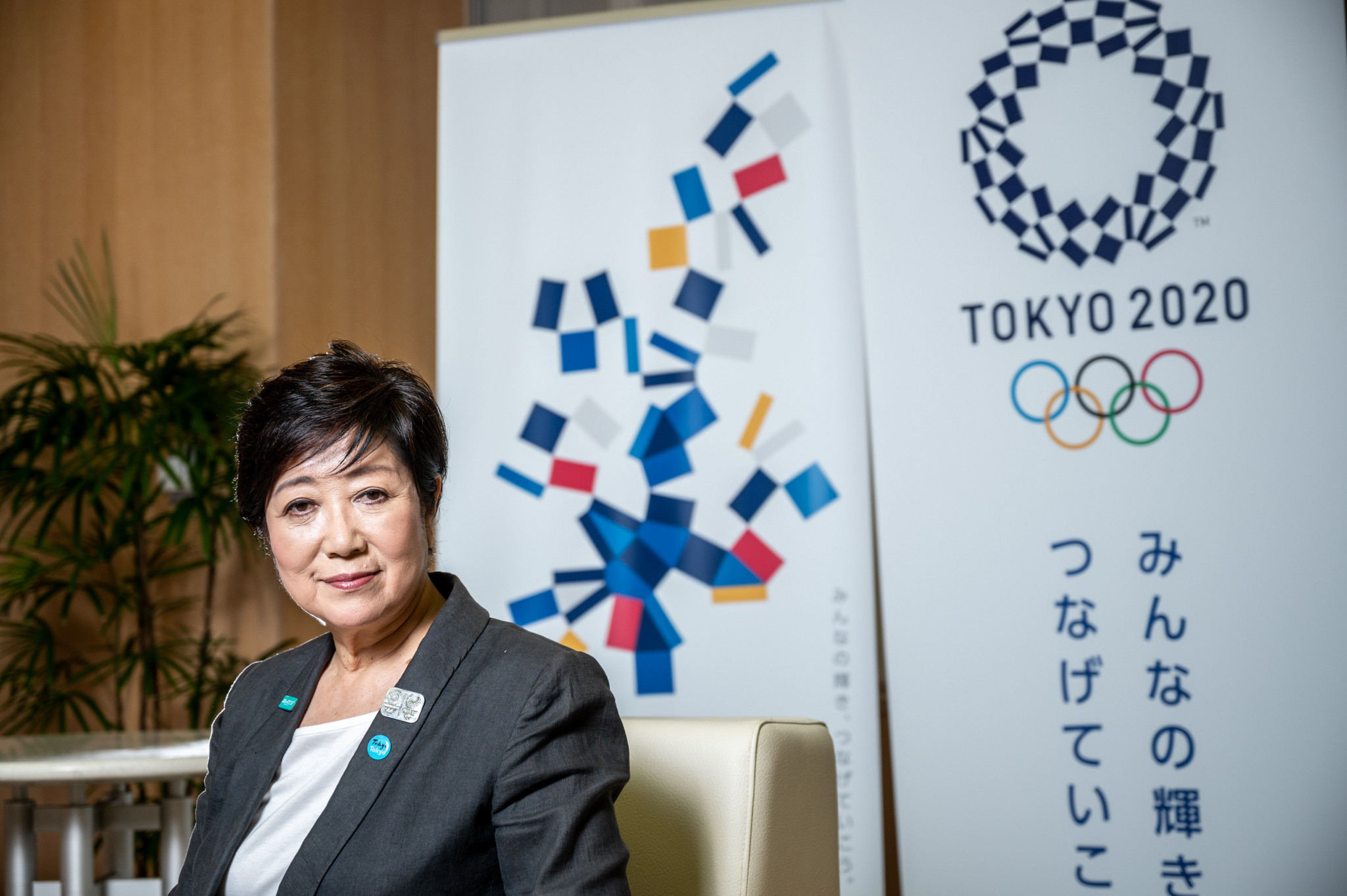 "Koike claims holding Tokyo 2020 next year would be a ""symbol"" of world overcoming pandemic"