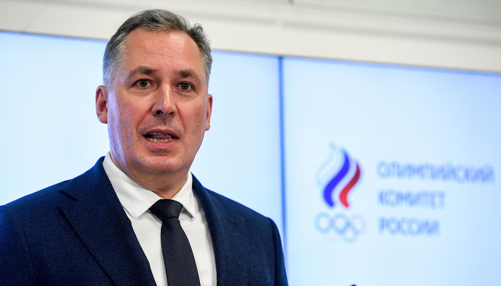 Russian Olympic Committee President Stanislav Pozdnyakov accused RUSADA of financial irregularities ©Getty Images