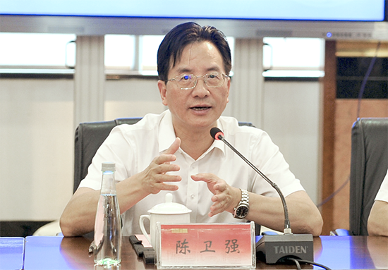 Chen Weiqiang said the Games should be used to promote the city's image ©Hangzhou 2022