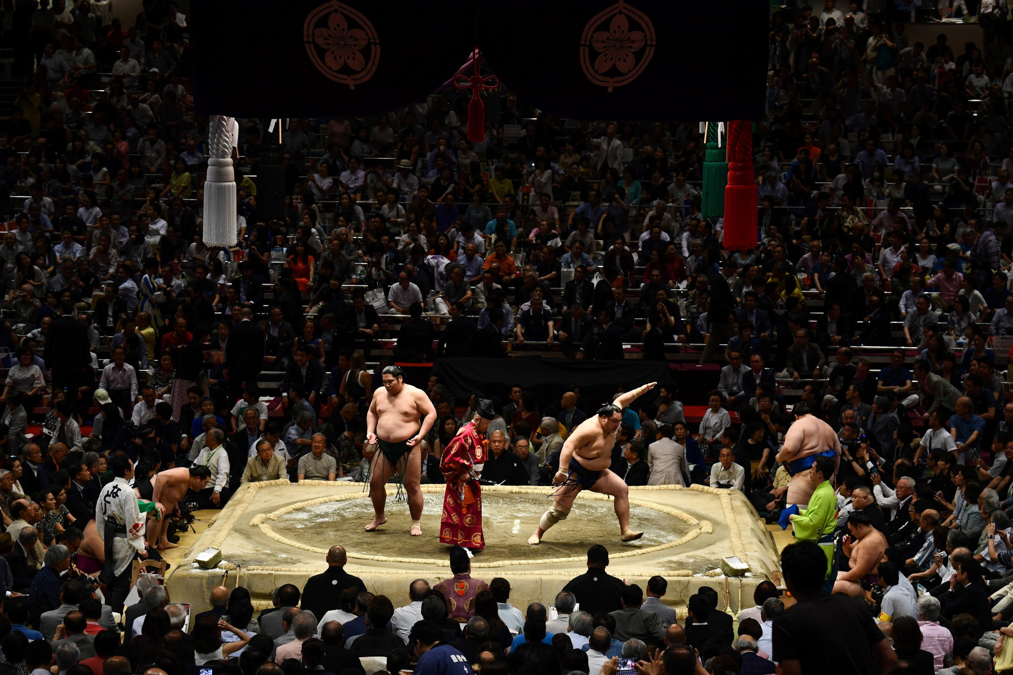 Fans to be allowed into Japanese sumo tournament in Tokyo