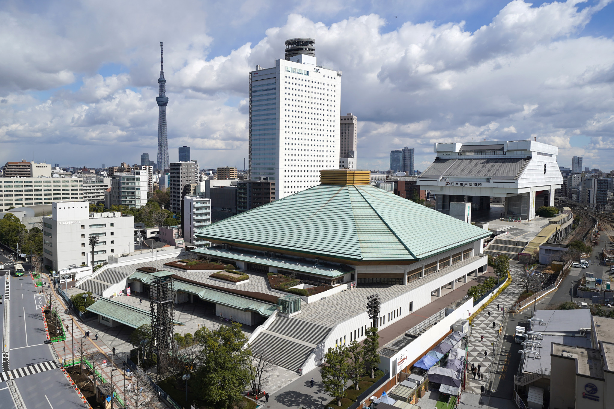 Spectators will be allowed into Ryogoku Kokugikan in Tokyo for the tournament ©Getty Images
